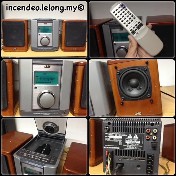**Incendeo** - JVC Ultra Micro Component System UX-1000