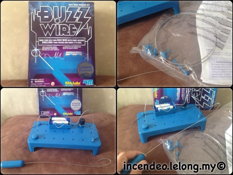 **incendeo** - Kidz Labs BUZZ WIRE Making Kit