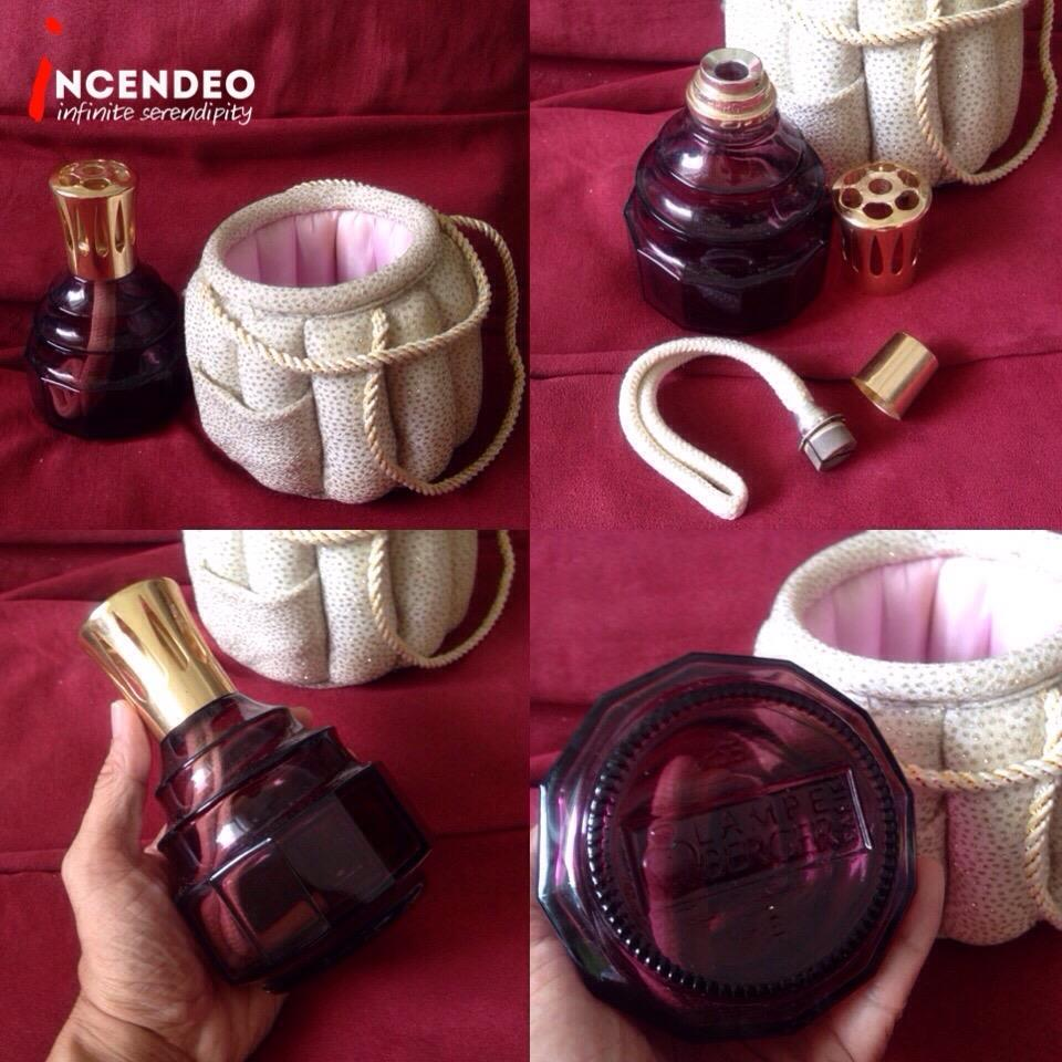 **incendeo** - LAMPE BERGER Catalytic Fragrance Ruby Red Lamp with Bag
