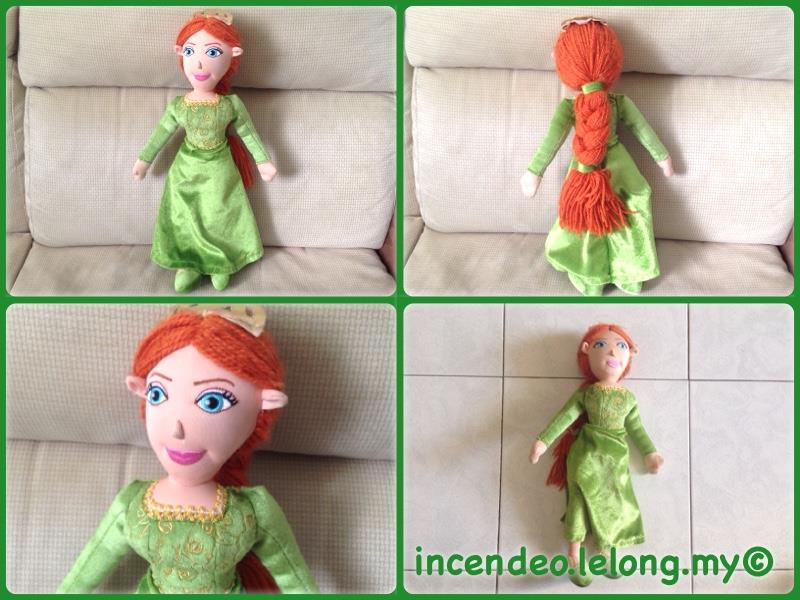 **Incendeo** - Large Princess Soft Toy