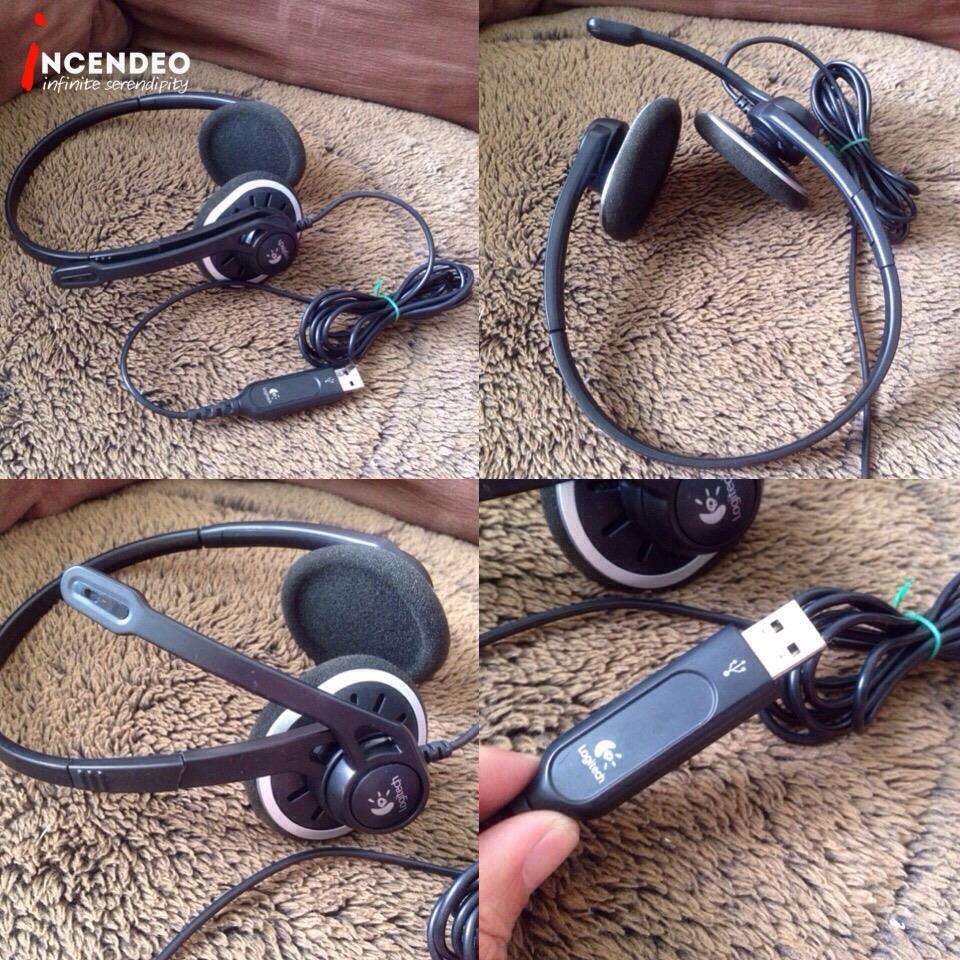 **incendeo** - LOGITECH Computer Stereo USB Headset H330