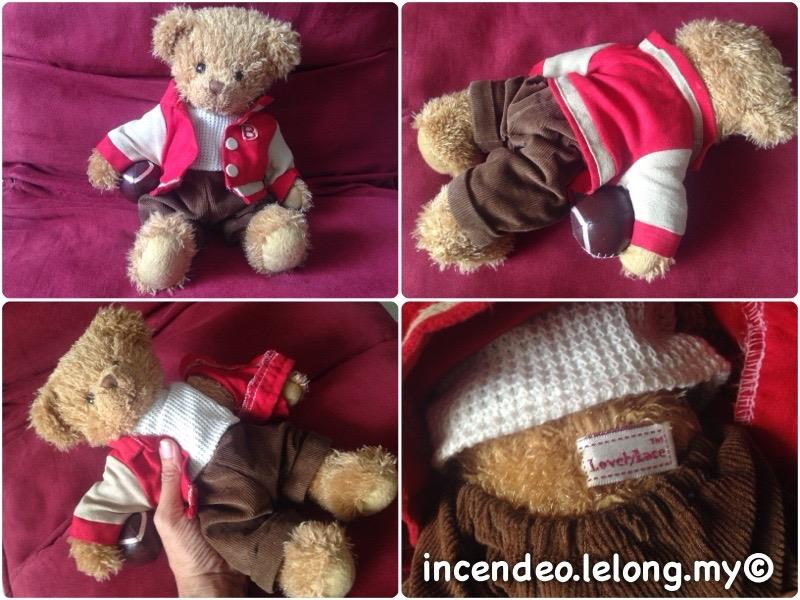"**incendeo** - Lovely Lace Australia Design 12"" Boy Bear Soft Toy"