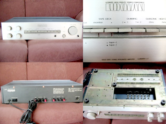 **Incendeo** - Luxman Solid State Stereo Integrated Amplifier L-2