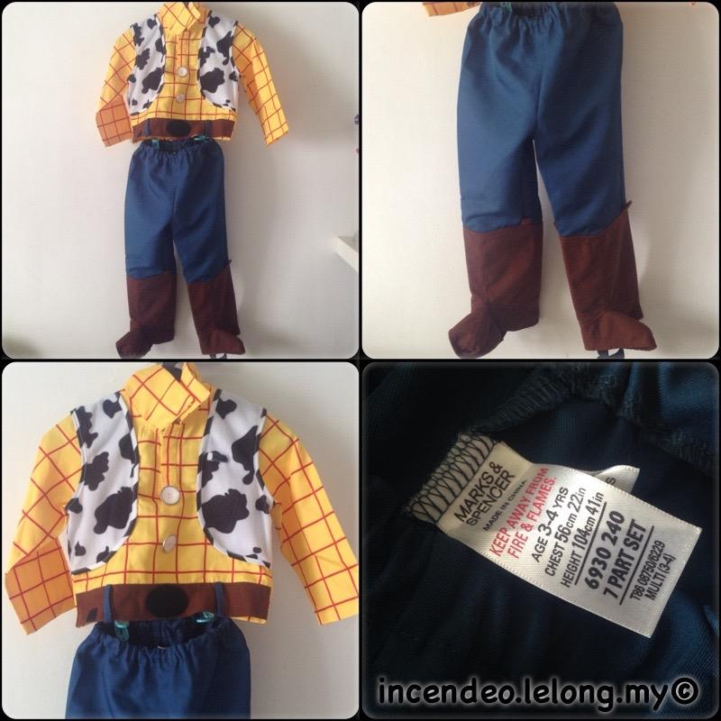 **incendeo** - MARKS & SPENCER Toy Story Woody Costume