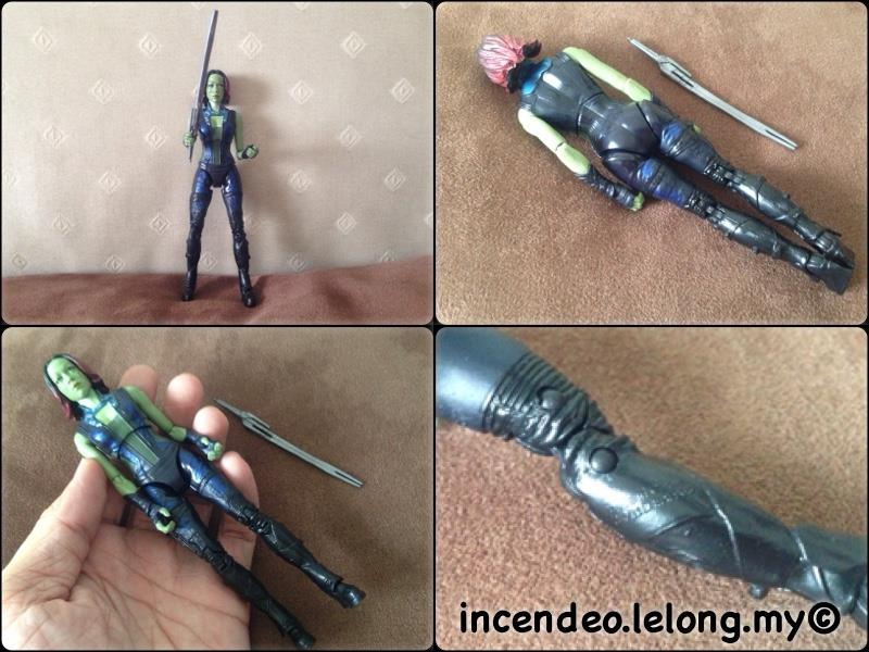 **incendeo** - Marvel Legends Infinite Guardian of the Galaxy GAMORA