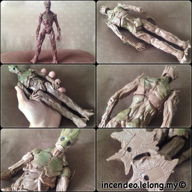 **incendeo** - Marvel Legends Infinite Guardian of the Galaxy GROOT