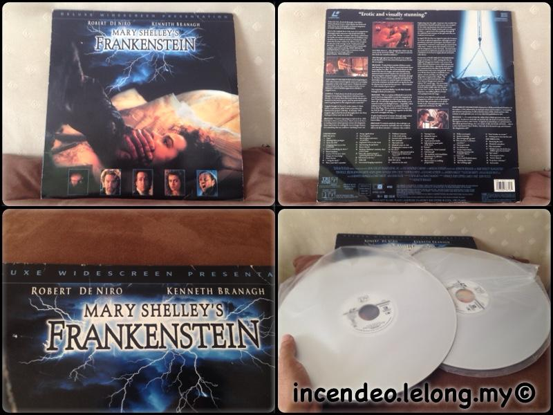 **incendeo** - Mary Shelley�s Frankenstein Collectible Laser Disc