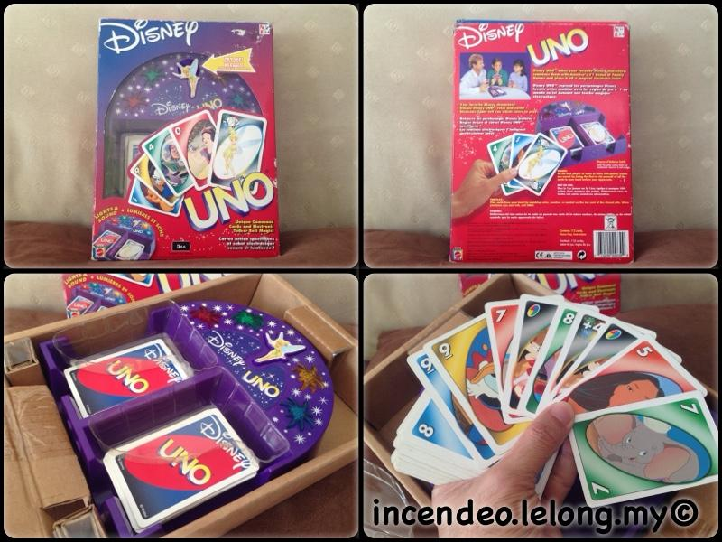 **incendeo** - MATTEL Disney UNO Card Game for Kids