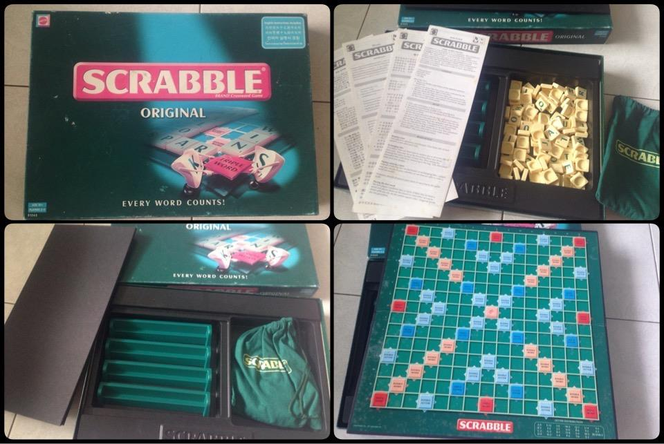 **incendeo** - MATTEL Original SCRABBLE Board Game