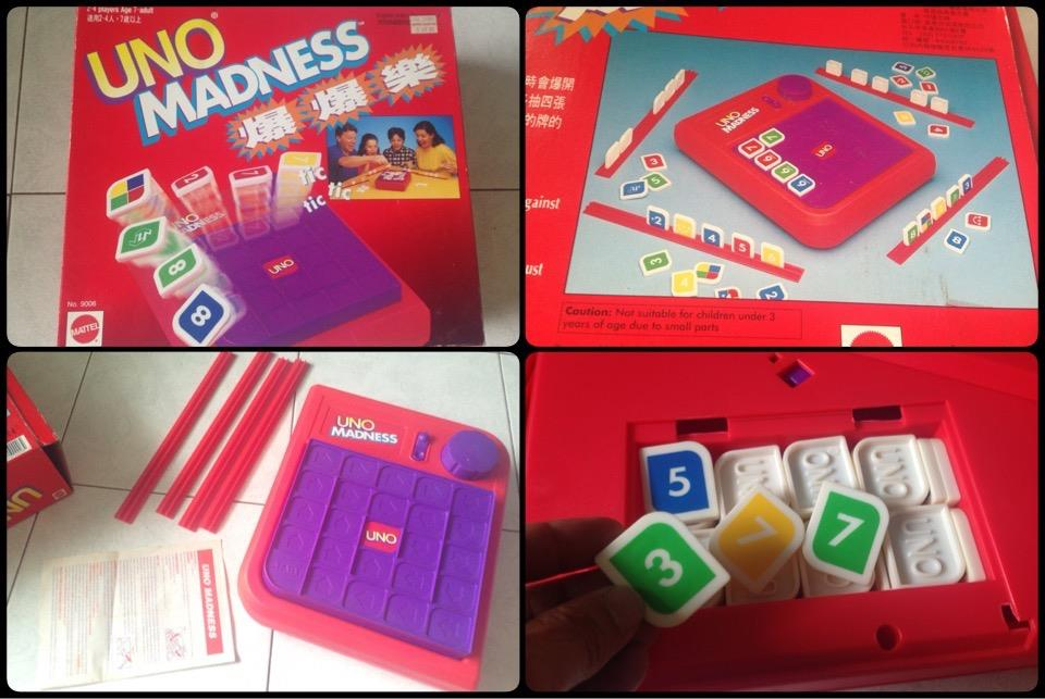 **incendeo** - Mattel UNO MADNESS Game for Family