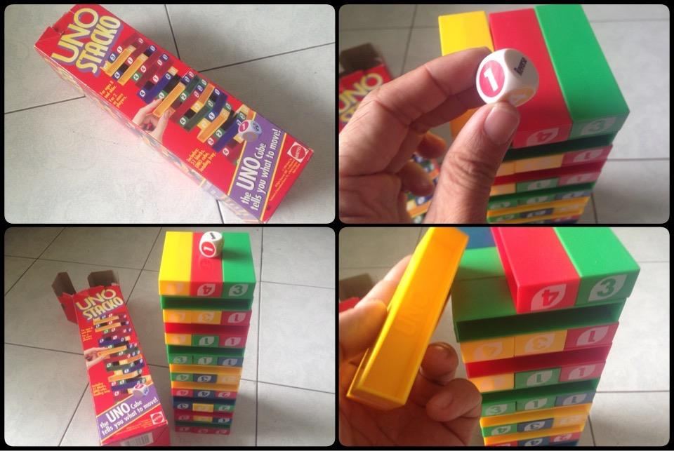 **incendeo** - Mattel UNO STACKO Game for Family