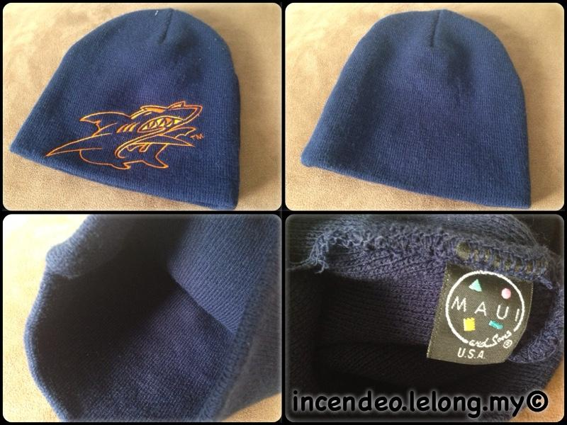 **incendeo** - MAUI and Sons USA Blue Rib-knit Hat