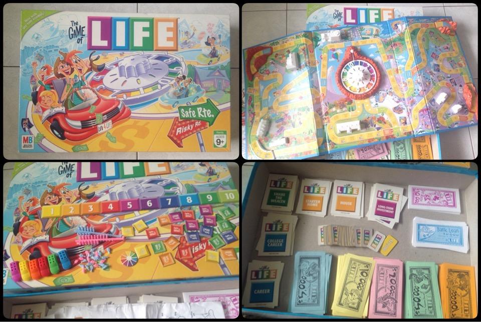**incendeo** - MB The Game of Life Board Game for Family