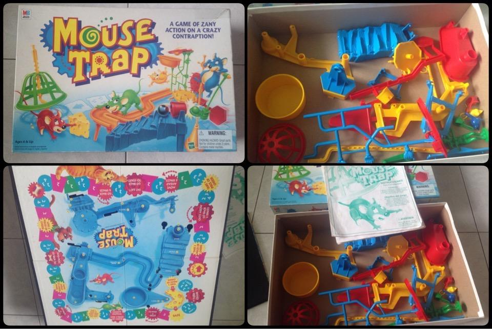 **incendeo** - MB Mouse Trap Board Game