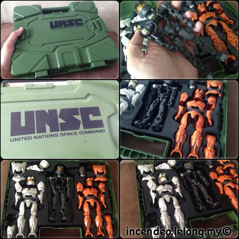 **incendeo** - MEGA BLOKS UNSC HALO Collector Case