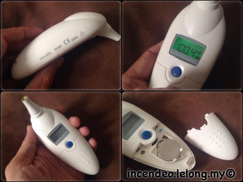 **incendeo** - microlife Digital Infrared Ear Thermometer 1R1DB1