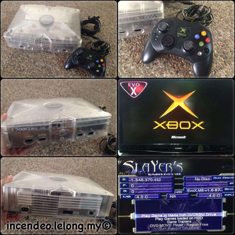**incendeo** - MICROSOFT Xbox Crystal Console with EvoX and XBMC