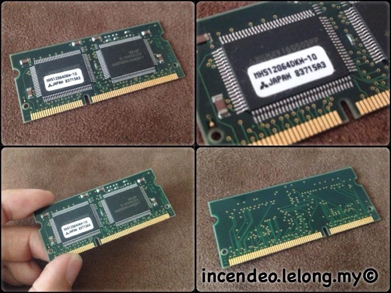 **incendeo** - MITSUBISHI 4MB SGRAM Video RAM MH512064DKN-10