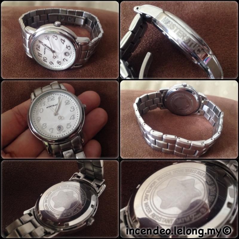 **incendeo** - MONTBLANC Meisterstuck Stainless Steel Quartz Watch