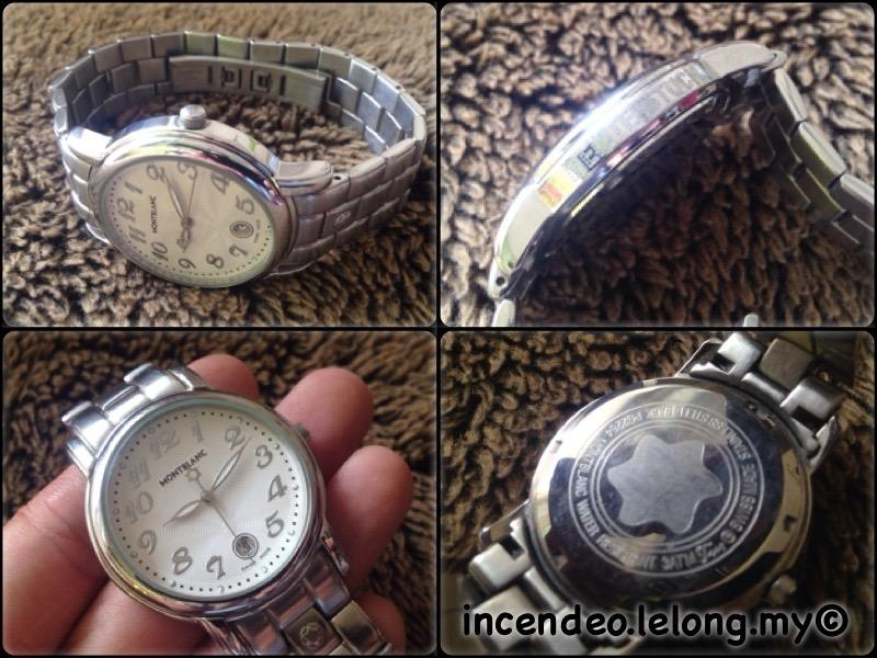**incendeo** - Montblanc Stainless Steel Quartz Watch