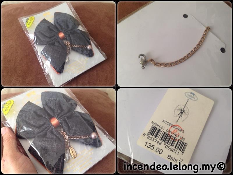 **incendeo** - NARAYA Big Ribbon Handbag Charm