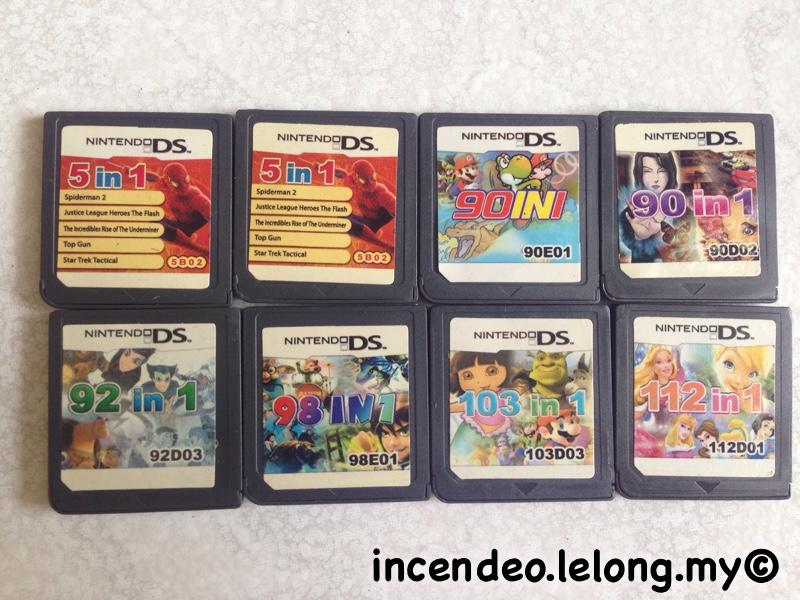 **incendeo** - Nintendo DS MultiGame Cartridge