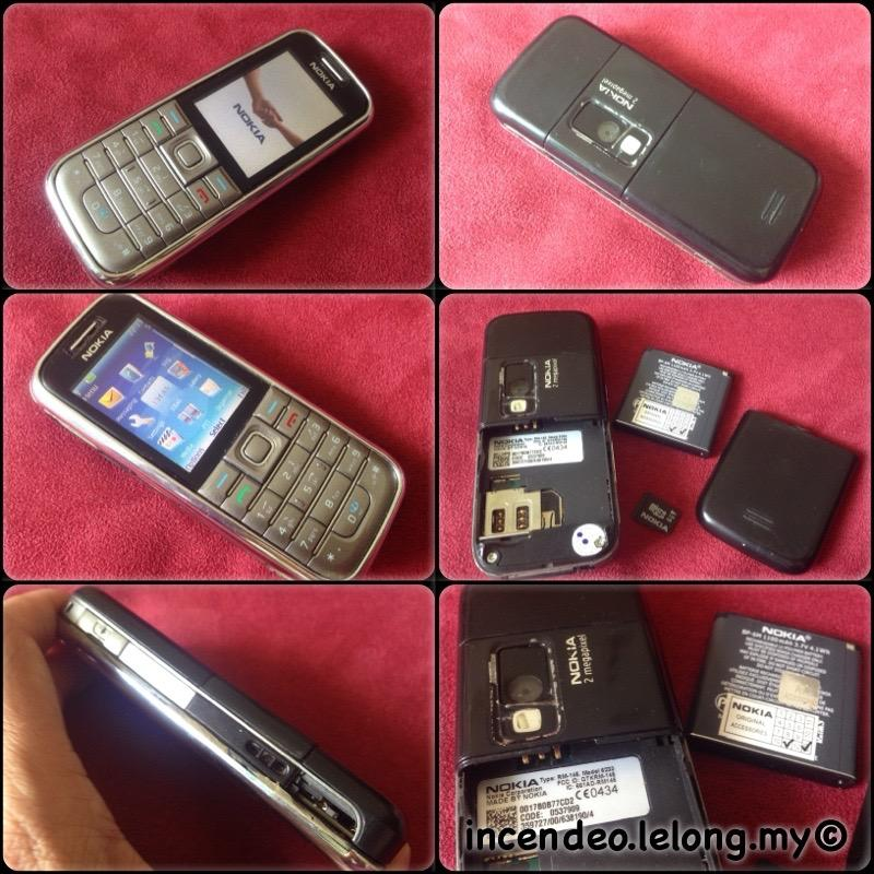 **incendeo** - NOKIA 6233 Mobile Phone