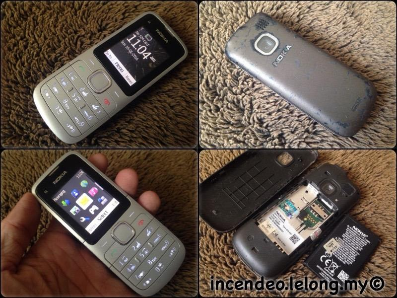 **incendeo** - NOKIA C1-01 Mobile Phone
