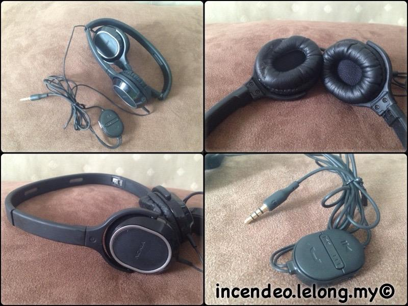 **incendeo** - NOKIA Foldable Stereo Headset WH-500