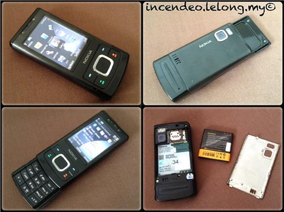 **Incendeo** - NOKIA Mobile Phone 6500s-1