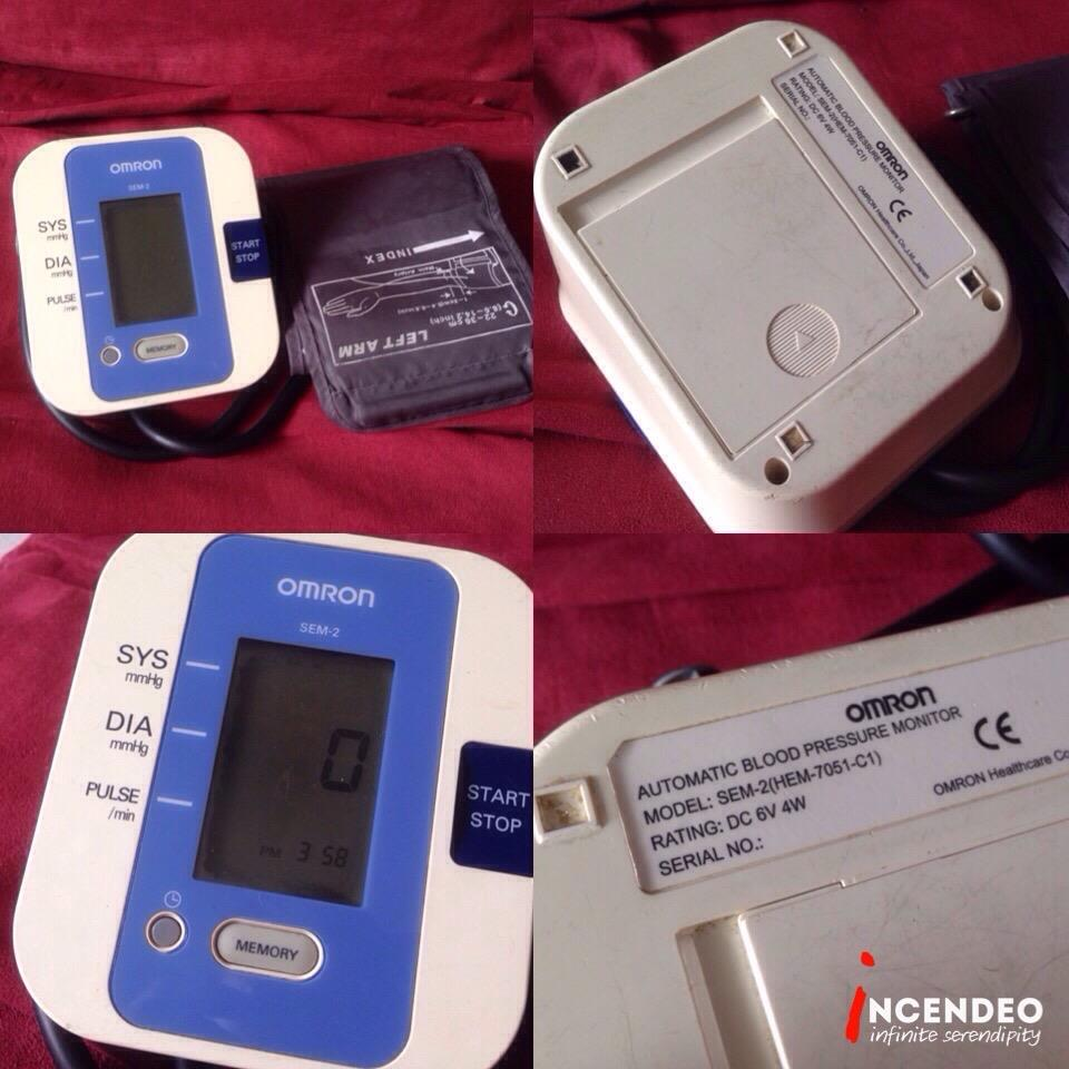 **incendeo** - OMRON Automatic Blood Pressure Monitor SEM-2