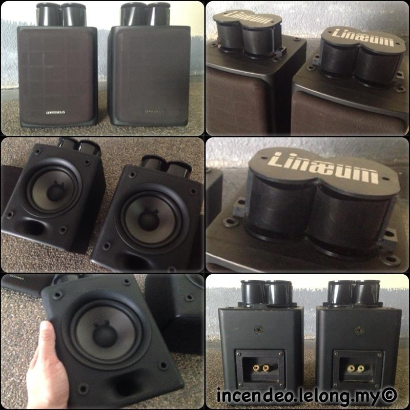 **incendeo** - OPTIMUS Pro LX5 Loudspeaker with LINAEUM Tweeter