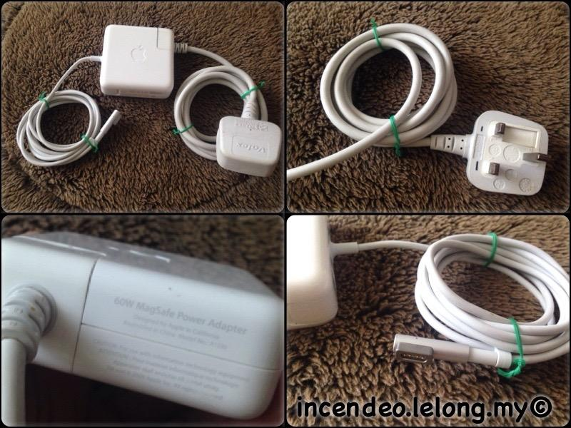 **incendeo** - Original APPLE 60W MagSafe Macbook Power Adapter