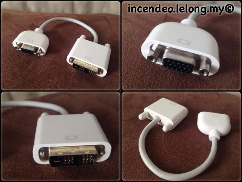**incendeo** - Original APPLE DVI to VGA Converter