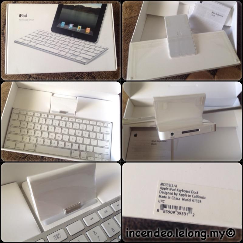 **incendeo** - Original APPLE iPad Keyboard Dock A1359