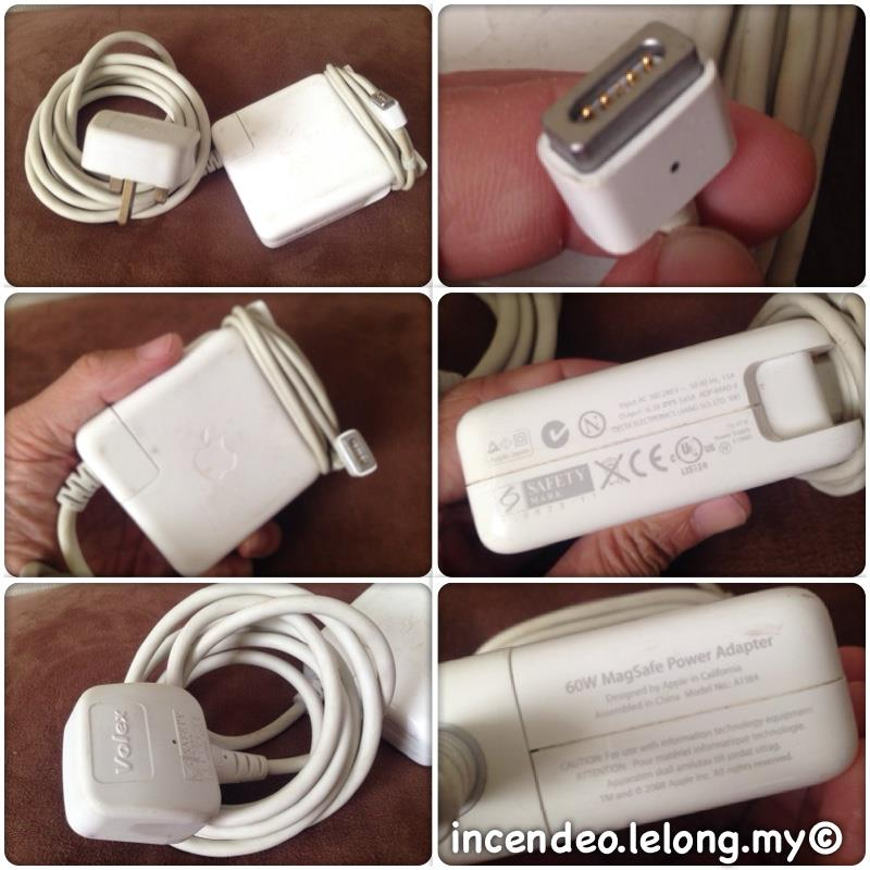 **incendeo** - ORIGINAL APPLE MacBook 60W MagSafe Power Adapter
