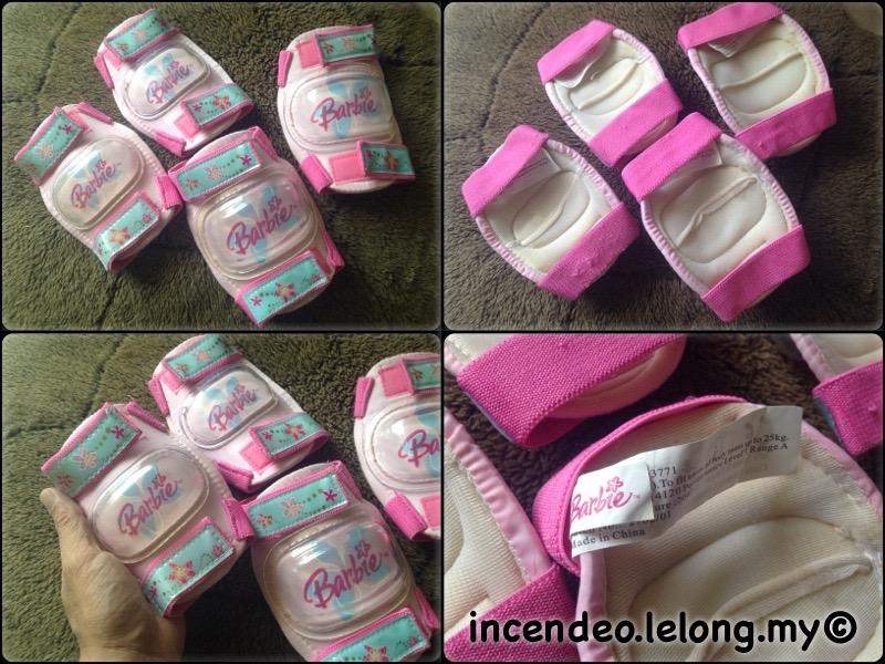 **incendeo** - Original Barbie Elbow and Knee Protection Pads