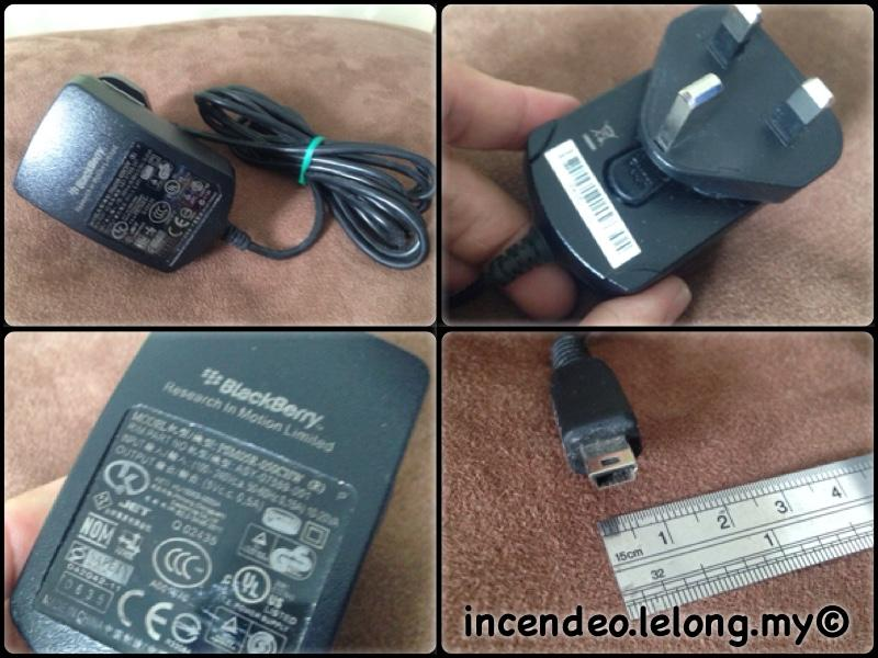 **incendeo** - Original BlackBerry Charger PSM05R-050CHW