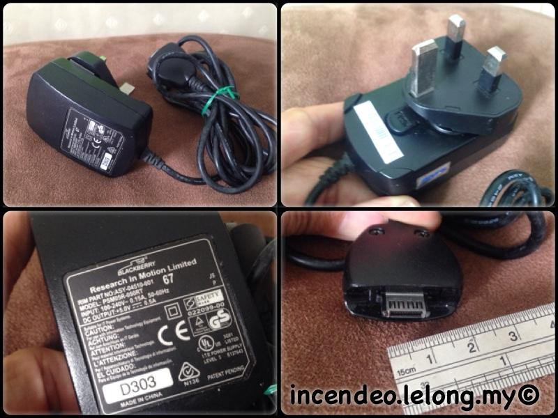 **incendeo** - Original BlackBerry Charger PSM05R-050RT