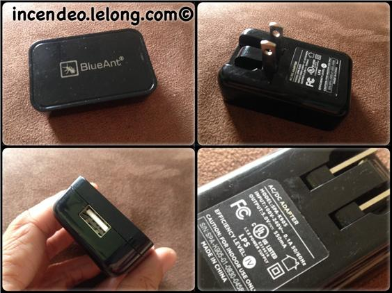 **Incendeo** - Original BlueAnt USB Power Adapter (FREE SHIPPING)