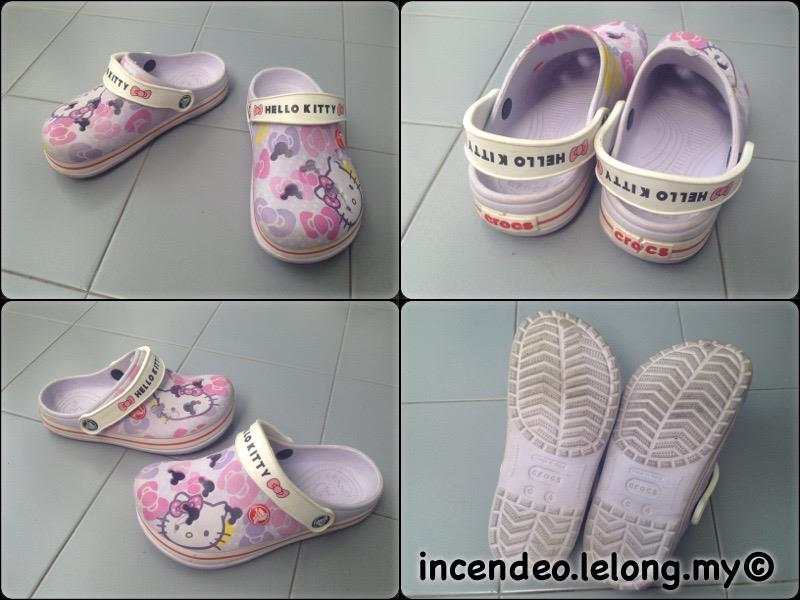 **incendeo** - Original CROCS Hello Kitty Purple Shoe