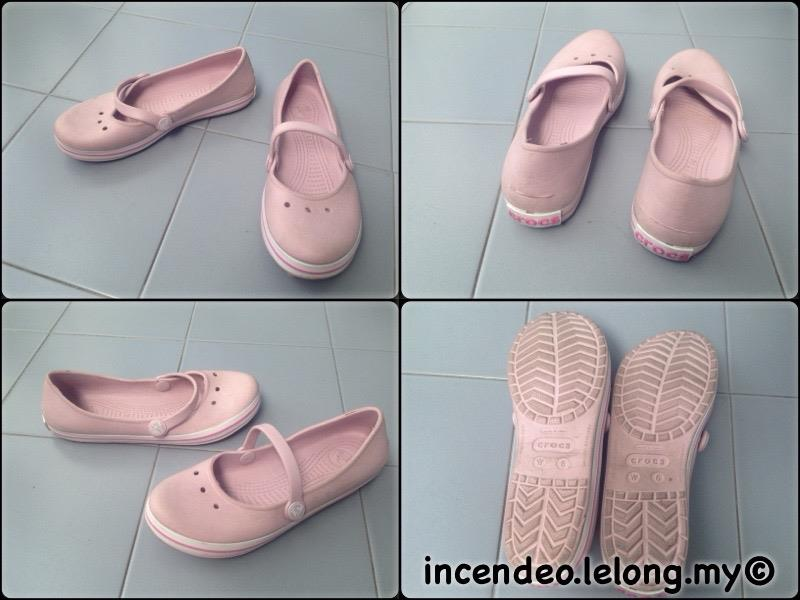 **incendeo** - Original CROCS Pink Casual Shoe for Ladies