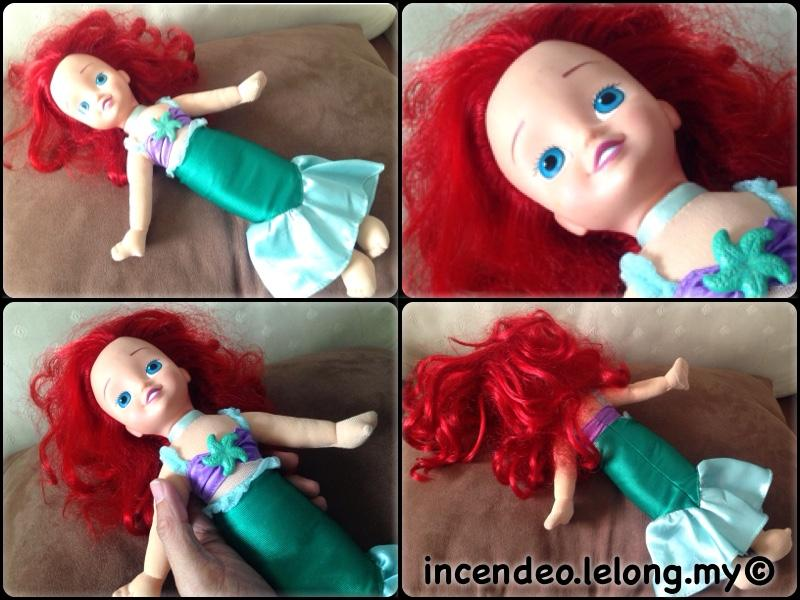**incendeo** - Original Disney My Little Mermaid Ariel Soft Toy