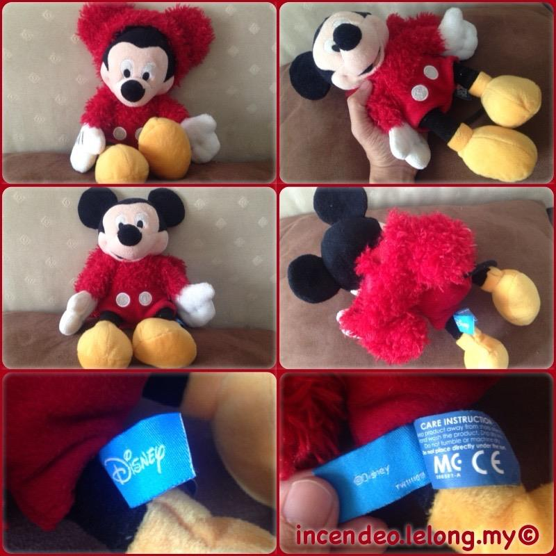 **incendeo** - Original Disney Mickey Mouse Soft Toy