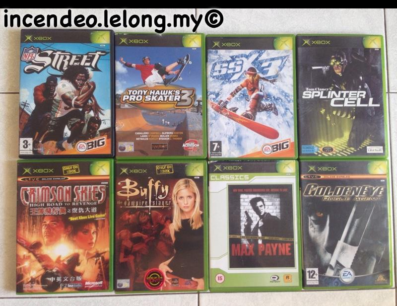 Original Xbox Games For Xbox : Incendeo original games for m end  am