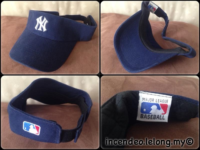 **incendeo** - Original Major League Baseball NY Blue Visor