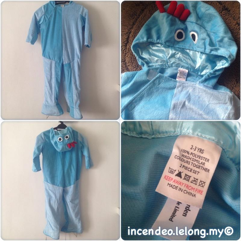 **incendeo** - Original Night in the Garden Iggle Piggle Costume