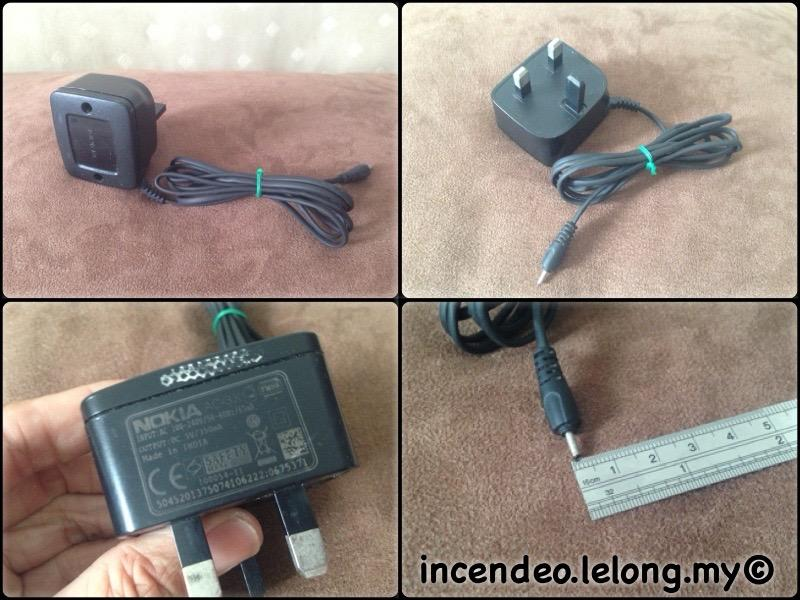 **incendeo** - Original NOKIA Mobile Phone Charger AC-3X