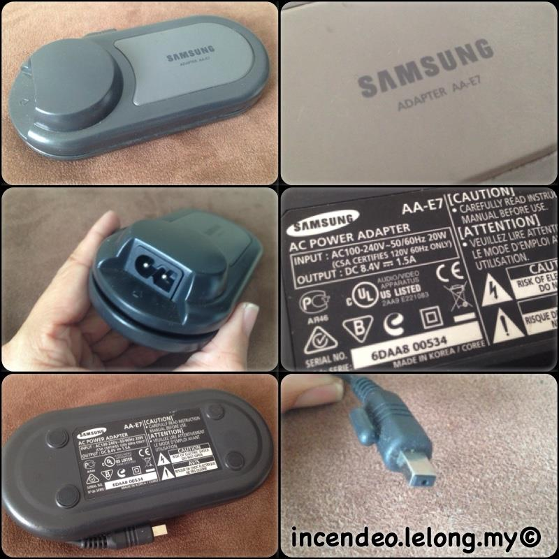 **incendeo** - Original SAMSUNG 8.4V 1.5A Power Adapter AA-E7