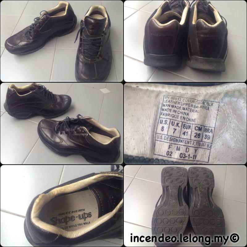 **incendeo** - Original SKECHERS Shape-ups Walking Black Shoes